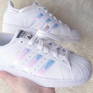 Adidas Iridescent Superstars